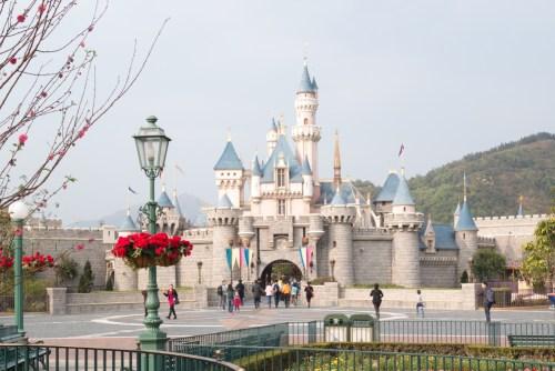 香港ディズニーランド、眠れる森の美女城