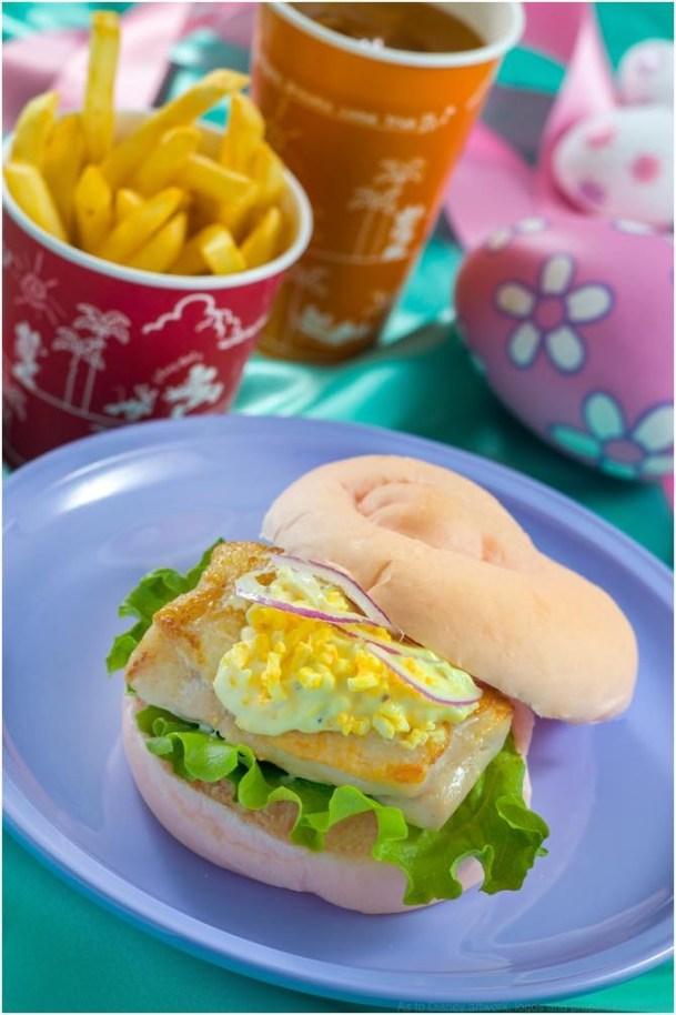 セバスチャンのカリプソキッチン スペシャルセット 990円 (c)Disney
