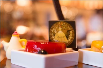 Intricate images of Belle adorn tasty new treats./As to Disney artwork, logos and properties:©Disney