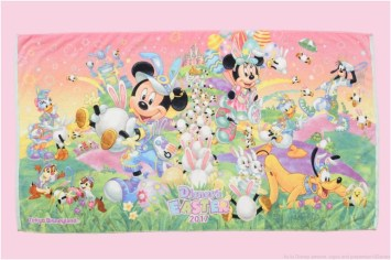 ワイドバスタオル  3800円 (c)Disney