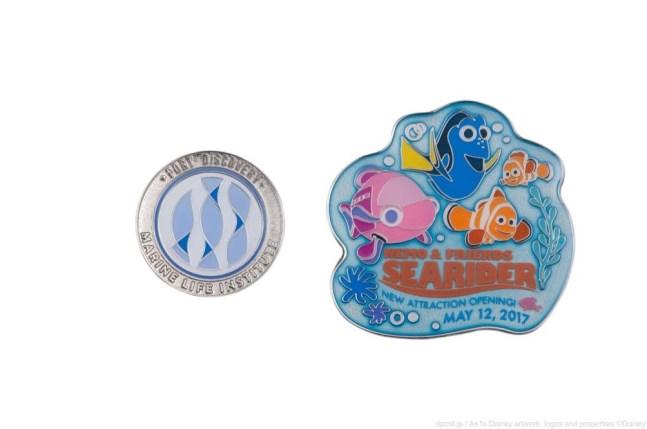 ピンバッジセット 1000円 (c)Disney/Pixar
