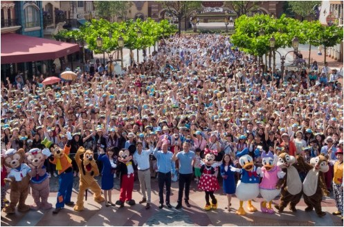 Shanghai Disney Resort Hosts Spectacular One Year Anniversary Celebration With Guests From Across China (c)Disney