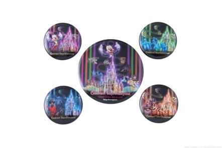 カンバッジセット 1300円 (c)Disney