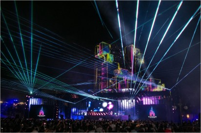 Electroland Returning to Disneyland Paris for Third Edition in 2019 (c)Disney
