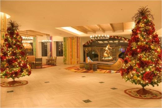 東京ディズニーセレブレーションホテル:ディスカバーのデコレーション (c)Disney
