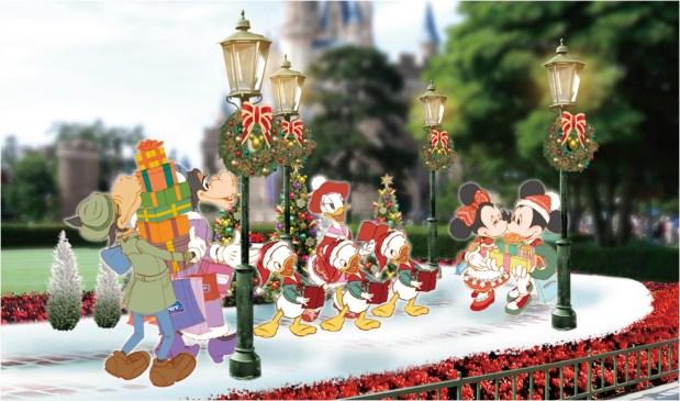 東京ディズニーランド デコレーション (c)Disney