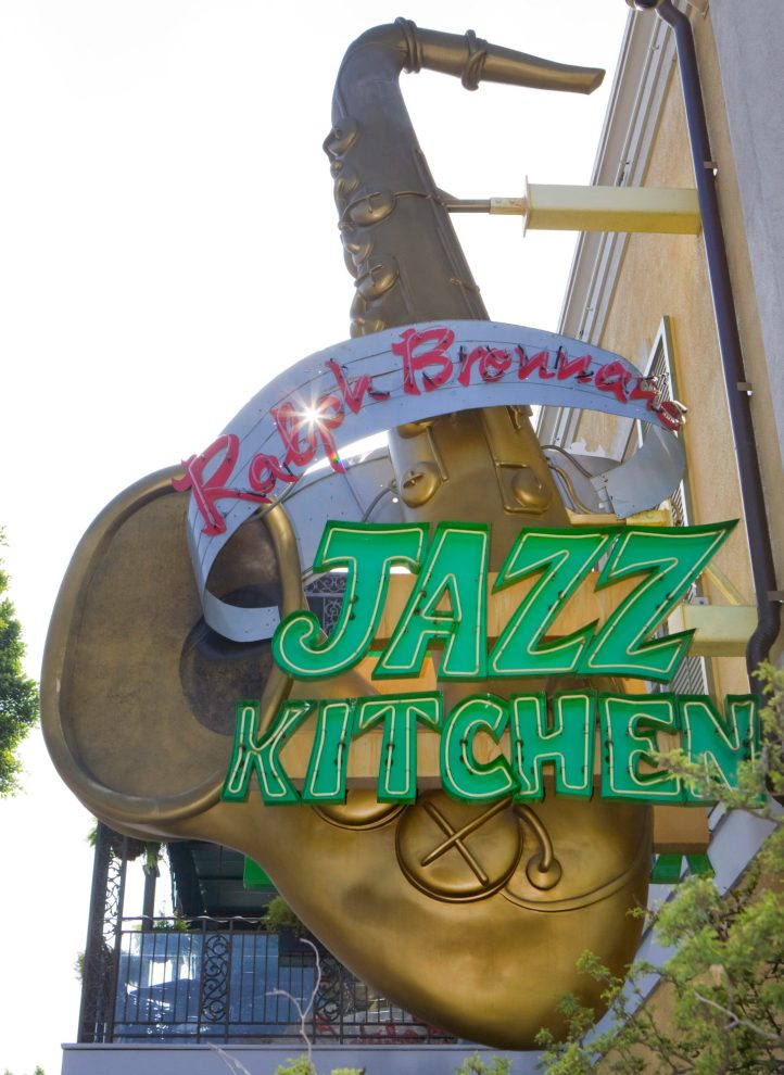 Ralph BrennanÕs Jazz Kitchen at Downtown Disney Ñ Combining a spicy mix of traditional New Orleans cuisine and hot jazz, Ralph BrennanÕs Jazz Kitchen at Downtown Disney is presented by The Ralph Brennan Restaurant Group, renowned in the New OrleansÕ fine-dining restaurant scene. A public esplanade leading to the entrances of Disneyland and Disney California Adventure Parks, Downtown Disney District features more than 50 shops, restaurants, boutiques, and snack locations. With live entertainment, lush landscaping and innovative architecture, Downtown Disney is the ideal location for a shopping spree, a dining excursion or simply a stroll through a unique Disney environment. (Paul Hiffmeyer/Disneyland)