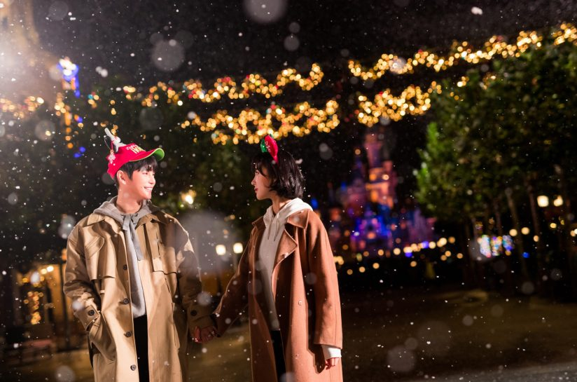 Indulge in an Enchanted White Christmas in Shanghai As to Disney artwork, logos and properties:©Disney