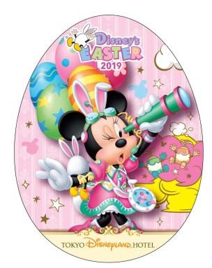 京ディズニーランドホテル ポストカード(ミニーマウス) (c)Disney