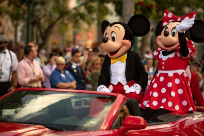 On its 30th anniversary, May 1, 2019, Disney's Hollywood Studios revealed a new logo for the theme park during an anniversary celebration at Walt Disney World Resort in Lake Buena Vista, Fla. The celebration also included a cavalcade of favorite Disney characters, led by Mickey Mouse and Minnie Mouse, down Hollywood Boulevard to celebrate the past, present, and new, exciting future of Disney's Hollywood Studios.