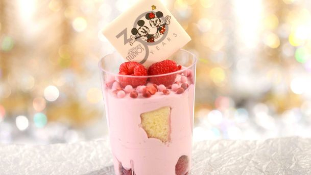Raspberry Mousse Verrine is offered at the ABC Commissary at Disney's Hollywood Studios starting May 1. The 30th anniversary of Disney's Hollywood Studios celebrates new attractions, entertainment, and merchandise, plus an incredible menu of limited-time offerings as well as legacy menu items that have been offered since the park opened.