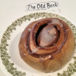 Don't forget your sticky buns on Sunday at The Old Bank.