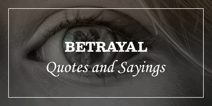 65 betrayal quotes and
