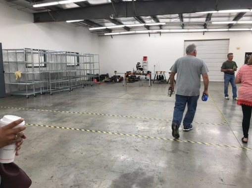 Moving into our new space