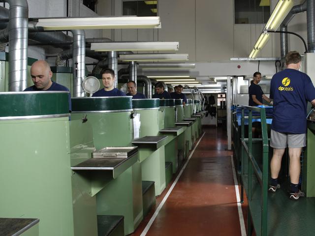 Rubber seals manufacturer - DP Seals Production line