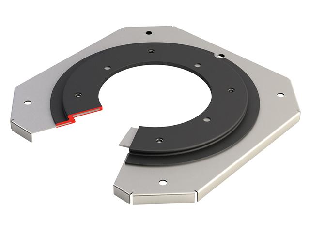 Rubber metla bonding - Acoustic gasket