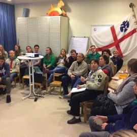 Stammesversammlung und Martinsessen