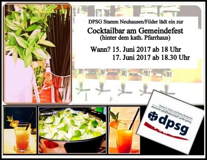 cocktailbar einladung 2017