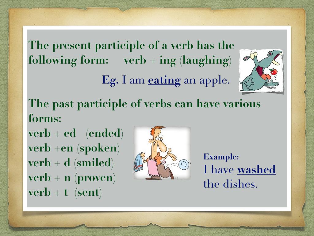 Class Vi Gerund Participles Amp Infinitives