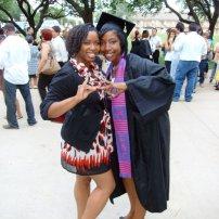 Zeta & Gamma: Another original freshman sorority sister and my number: Alonna