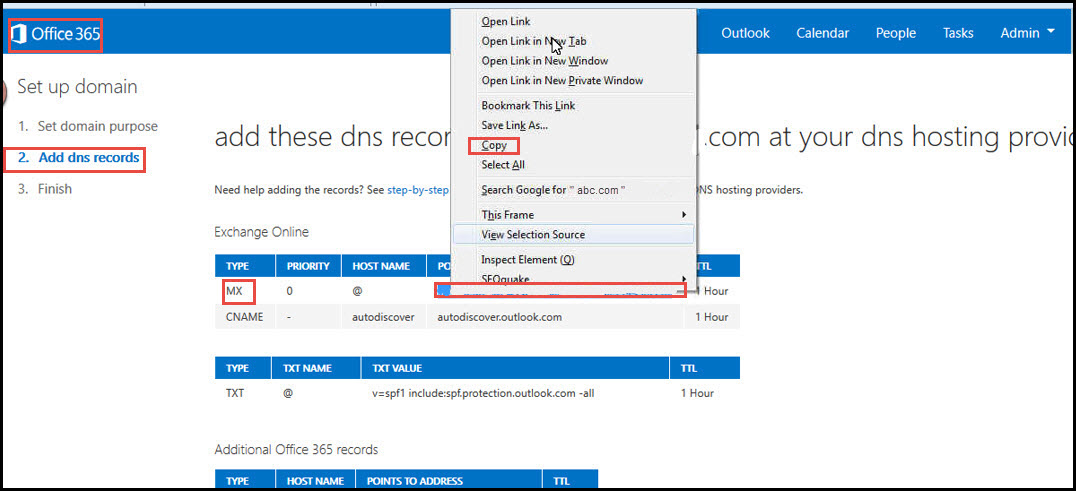 How to change DNS entries in office 365 - Part III   Office 365 Support