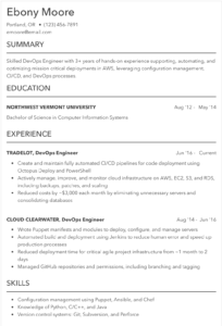 Resume Examples And Sample Resumes For 2019 Indeed Com