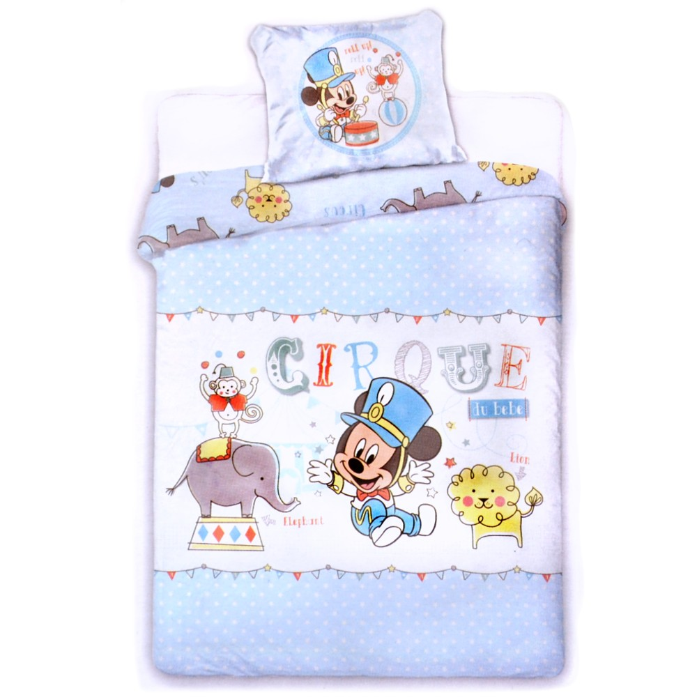 Baby Bettwäsche Mickey Mouse Renforce Bettwäsche Mickey