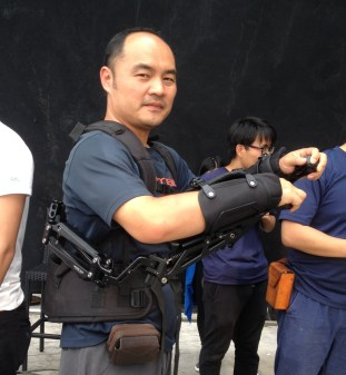 Armor Rig with 2 Robocop-like arms