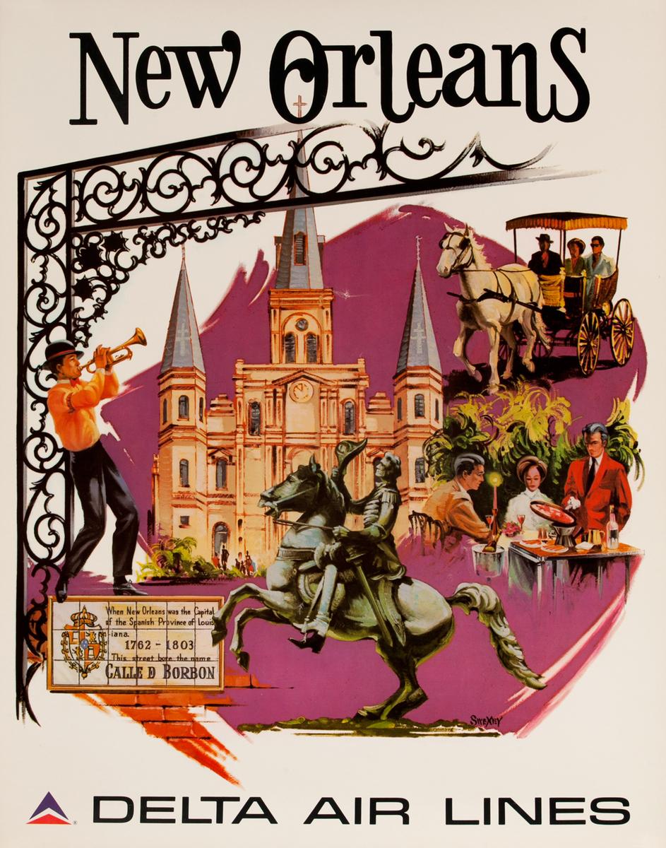 delta david pollack vintage posters
