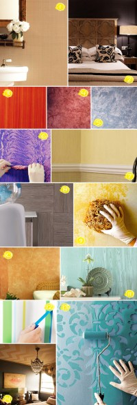 Textured Wall Painting Ideas: From Faux Wood to Linen ...
