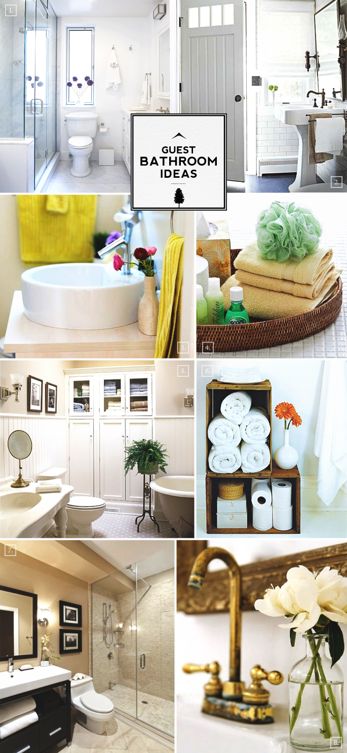 Guest Bathroom Ideas That Make Them Feel At Home  Home