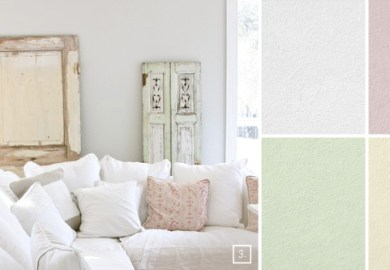 Shabby Chic Wall Paint Colors