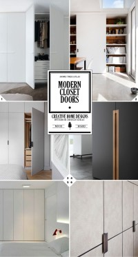 Design Tips for Modern Closet Doors | Home Tree Atlas