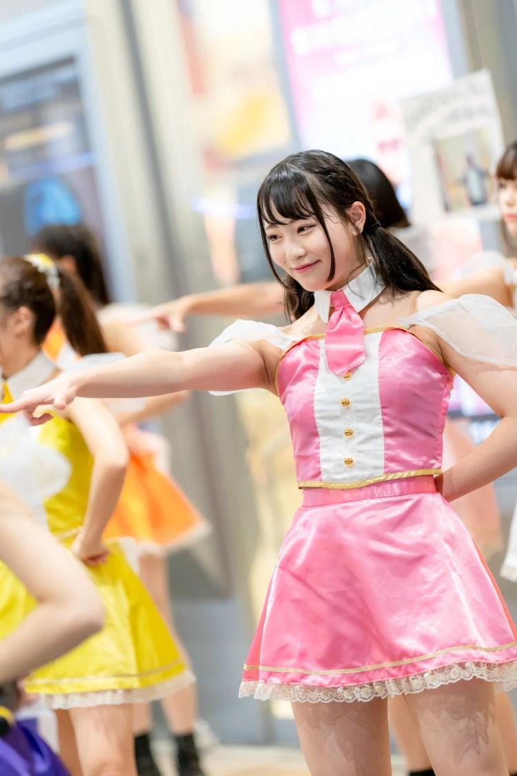 フルーティー♡ きょうか ( 宮崎杏花 )   メジャーシングル第2弾「FRONT LINER」リリースイベント