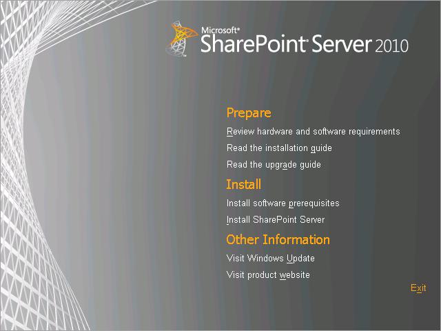 Instalação automática dos pré-requisitos do SharePoint 2010 (1/3)