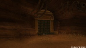 漆黒の間の入り口