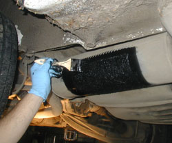 leaking mufflers and exhaust pipes