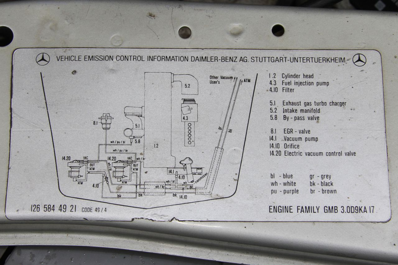Mercedes Benz 1984 Fuel Line Diagram On Wiring Diagram For Mercedes