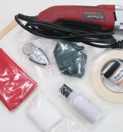 anodized aluminum window trim polish restoration kit w power tool [ 1280 x 853 Pixel ]