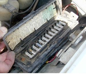 OE Aluminum Fuse Failure   Electrical Problem   MercedesSource