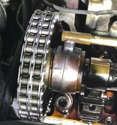 i installed a new timing chain and it jumped some sprocket teeth [ 1200 x 900 Pixel ]