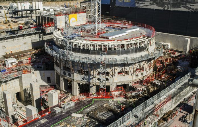 World's largest nuclear fusion reactor