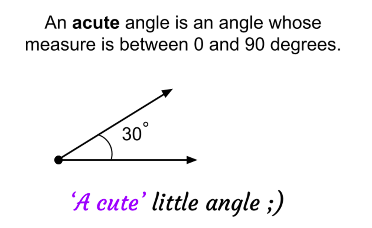 Classifying Common Angles