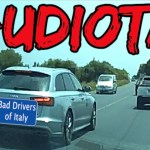 BAD DRIVERS OF ITALY dashcam compilation 07.15