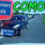 BAD DRIVERS OF ITALY dashcam compilation 08.12