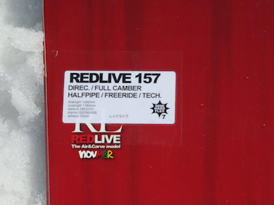 1NOVEMBER RED LIVE