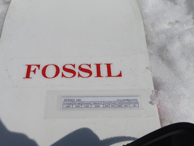 1 FOSSIL SPEED