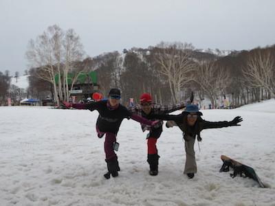 スノーボード野沢温泉