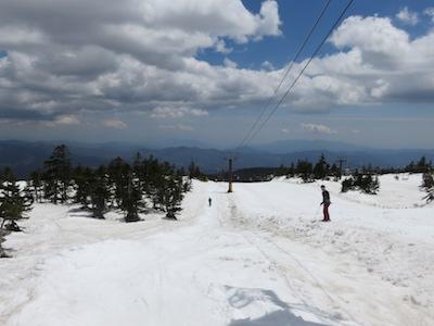 30横手山渋峠スキー場