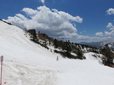 50横手山渋峠スキー場